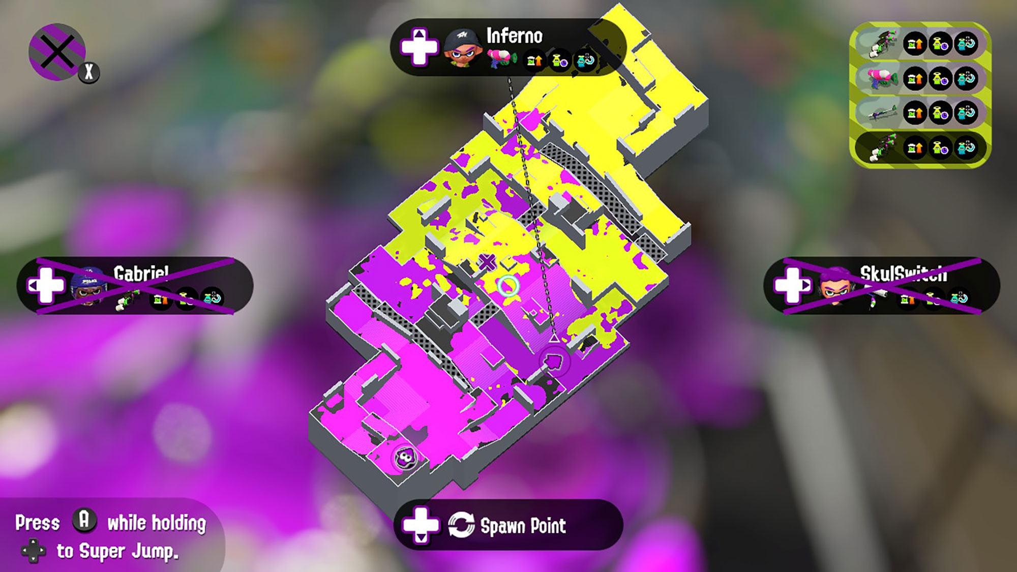 You can get a pretty good idea of who is winning when looking at the map