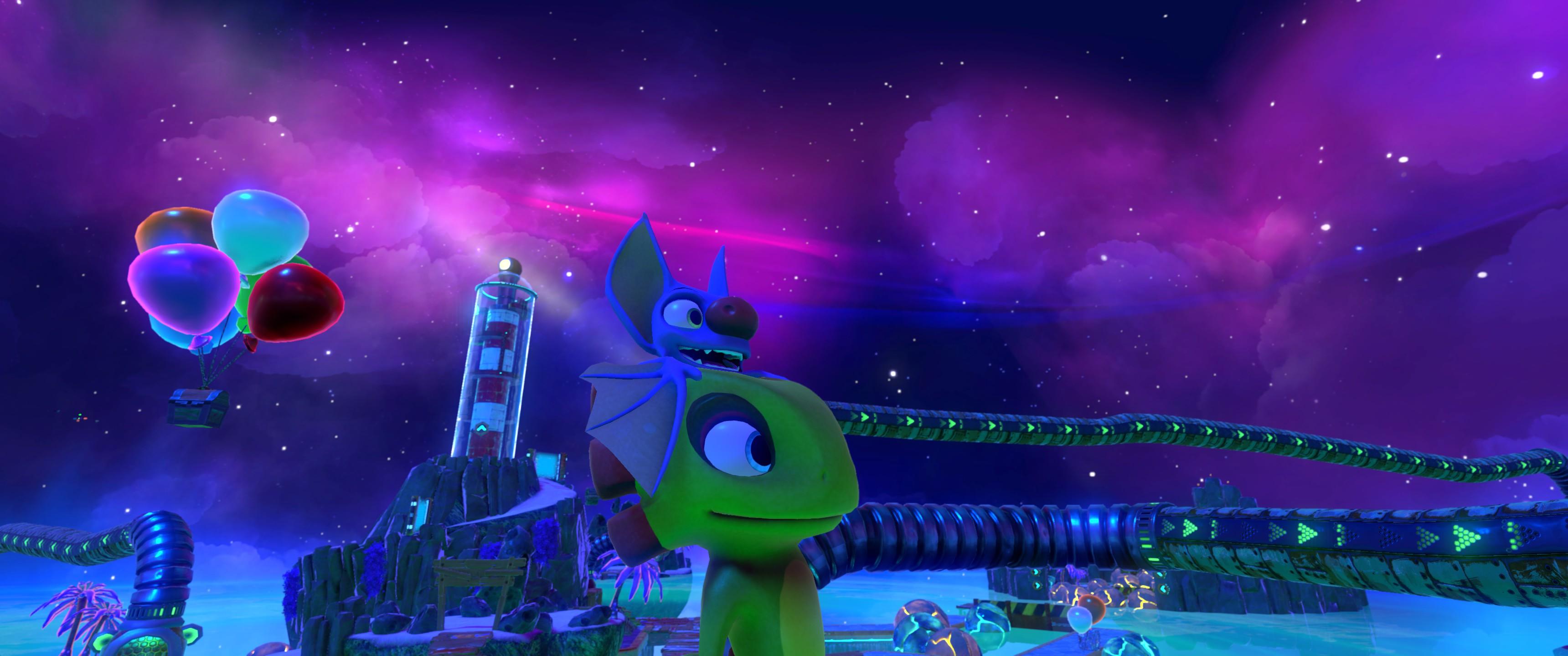 Yooka-Laylee is definitely one of the best looking Unity games