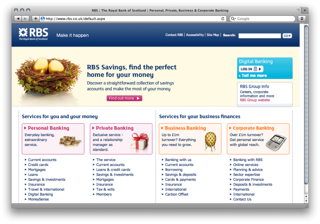 Poor Usability on the Web - Part 1: Online Banking
