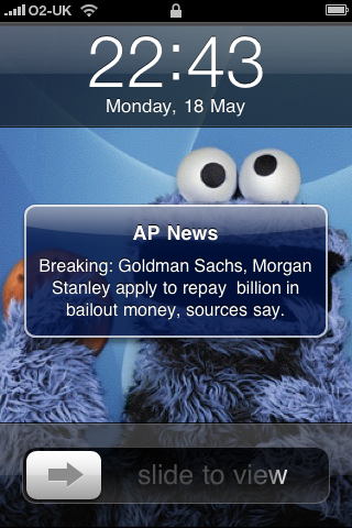 AP News Push Notification