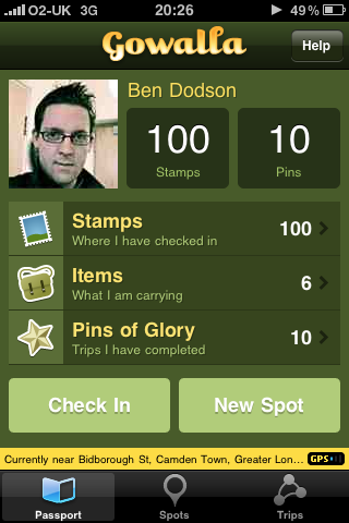 My first 100 stamps!