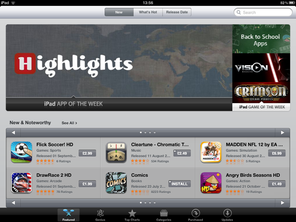 Highlights - iPad App of the Week