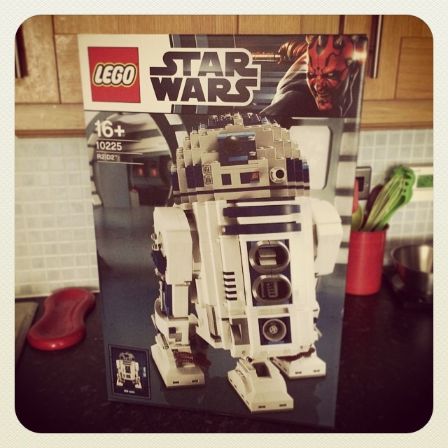LEGO R2D2 from awesome client