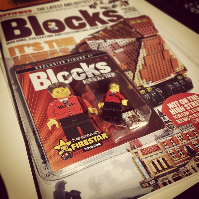 Blocks Magazine Subscription Limited Edition Minifigure