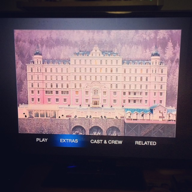 The Grand Budapest Hotel iTunes Extras on Apple TV