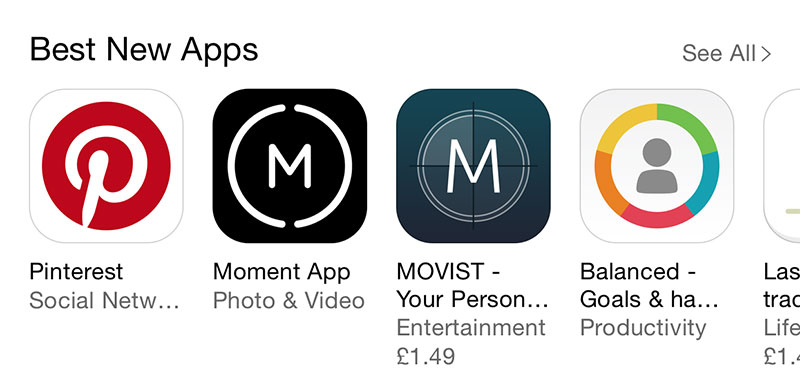 M App Icons
