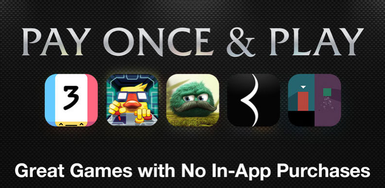 Pay Once and Play on the App Store