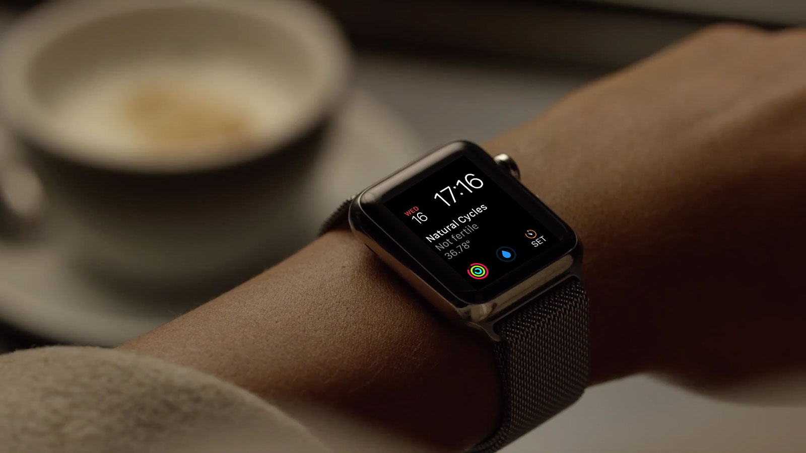 Natural Cycles Apple Watch Complication by Ben Dodson