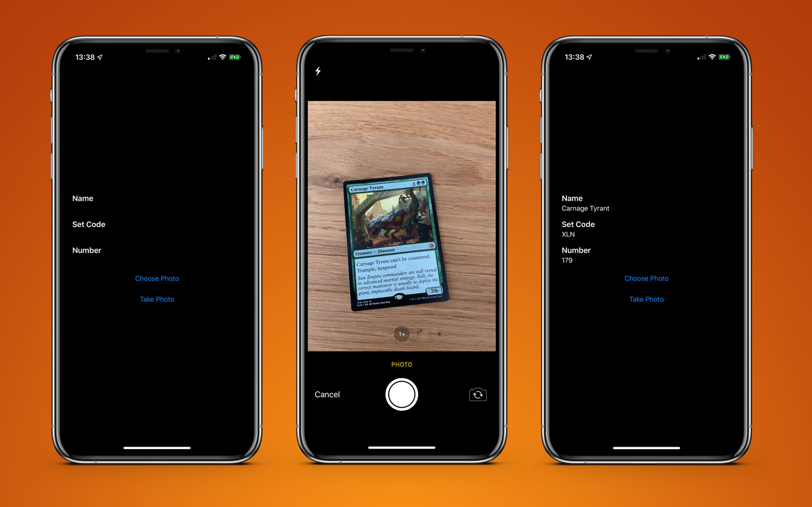 iOS app to detect Magic The Gathering cards with iOS 13 Vision Framework